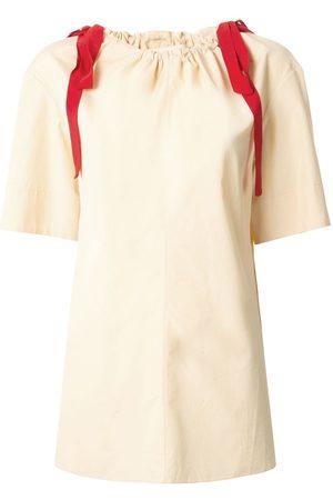 Marni Blusa con cordón en el cuello