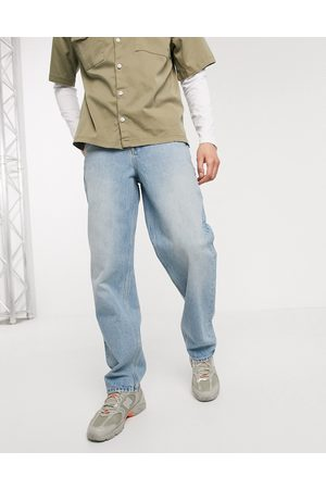 ASOS Baggy jeans in light wash blue