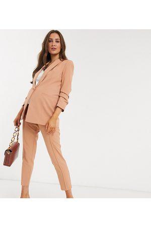 ASOS ASOS DESIGN Maternity mix & match cigarette suit trousers