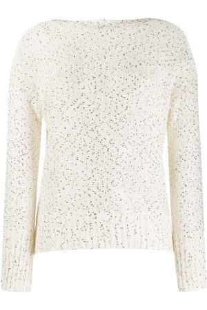 SNOBBY SHEEP Sequin embroidered sweater