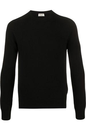 Saint Laurent Hombre Suéteres - Suéter con cuello redondo