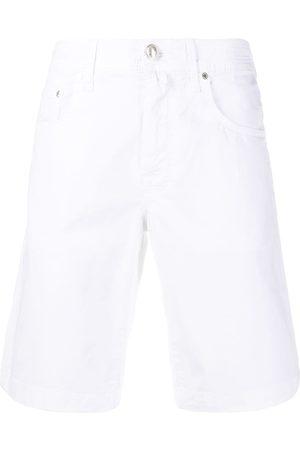 Jacob Cohen Hombre De mezclilla - Shorts de mezclilla rectos