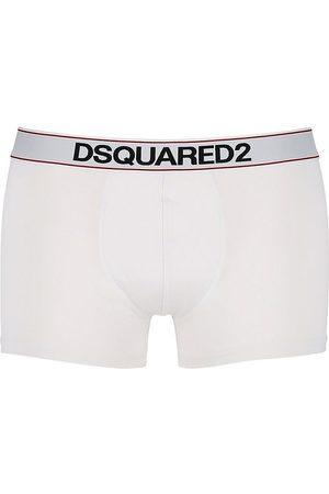 Dsquared2 Calzón Boxer De Jersey De Algodón Con Logo