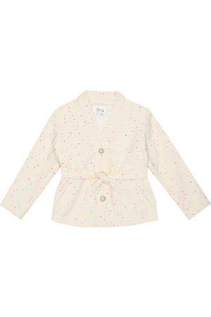 BONPOINT Naoli dotted tweed jacket