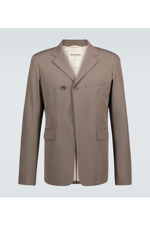 Rochas Qualls wool and cotton-blend blazer