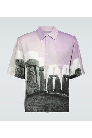 ARIES Stonehenge Hawaiian shirt