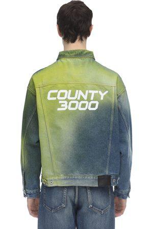 "MARCELO BURLON Chaqueta De Denim ""county 3000"""