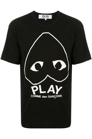 Comme des Garçons Playera con cuello redondo y logo