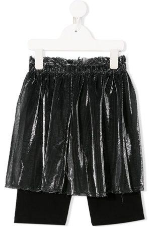 Le pandorine Shorts de malla a capas