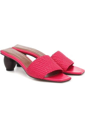 Souliers Martinez Mujer De tacón - Exclusive to Mytheresa – Celia leather sandals