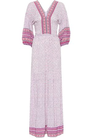POUPETTE ST BARTH Mya floral-print maxi dress