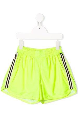Le pandorine Shorts de running con rayas laterales