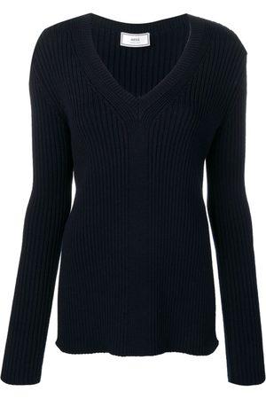 Ami Suéter con cuello en V
