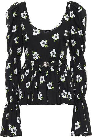 Caroline Constas Raine floral cotton top