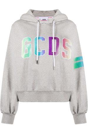 GCDS Mujer Con capucha - Sudadera con capucha y logo
