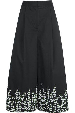 ADAM LIPPES Culottes con estampado floral