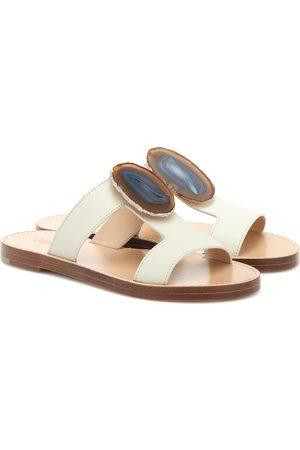 GABRIELA HEARST Hades Agate leather sandals