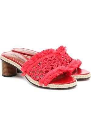Altuzarra Tack woven sandals