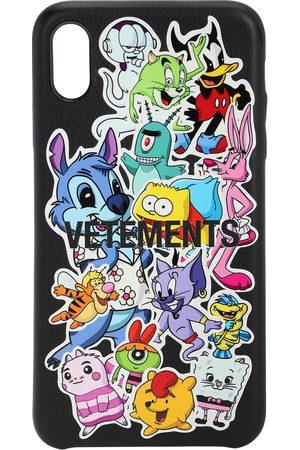 Vetements Funda Para Iphone Xs Max Con Stickers Monster