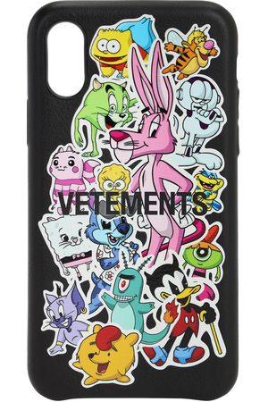 "Vetements Funda ""monster Stickers"" Para Iphone Xs"