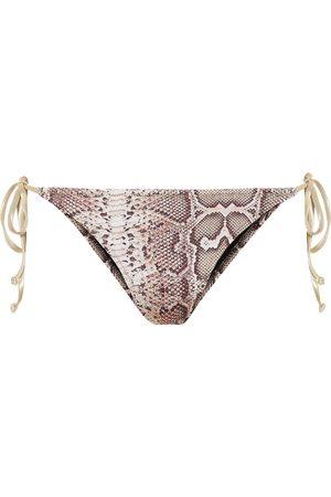 Reina Olga Exclusive to Mytheresa – Miami printed bikini bottoms