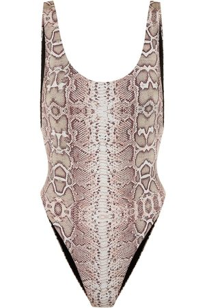 Reina Olga Exclusive to Mytheresa – Funky printed swimsuit