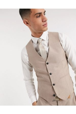 Harry Brown Slim fit plain suit waistcoat