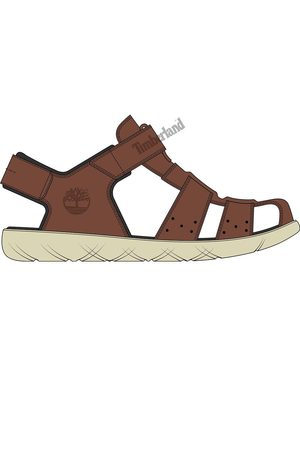 Timberland Nubble Leather Fisherman Youth