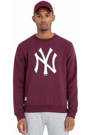New Era Mlb Team Logo Crew Neck New York Yankees