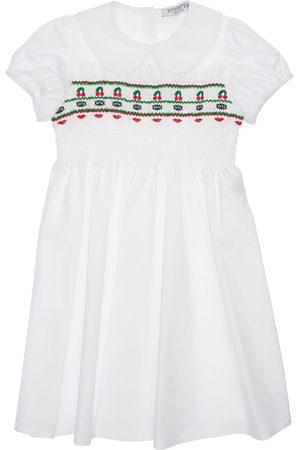 VIVETTA Vestido De Popelina De Algodón Stretch