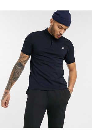 Fred Perry Hombre Polos - Plain polo shirt in navy