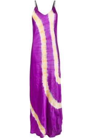 Palm Angels Slip dress con motivo dip-dye