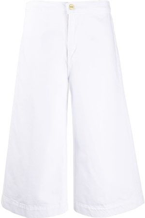 Frame Cropped fit trousers