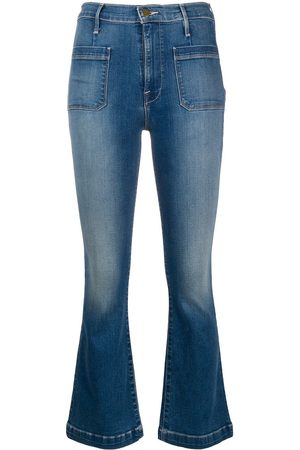 Frame Mujer Acampanados - Cropped flared jeans