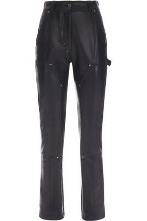 Atlein Lvr Exclusive Pantalones De Piel Sintética