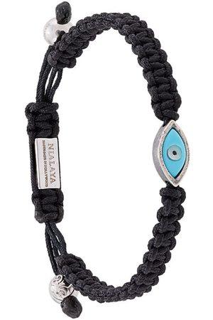 Nialaya Jewelry Pulsera Evil Eye con tiras