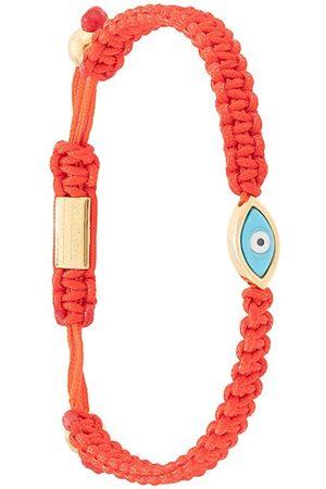 Nialaya Jewelry Hombre Pulseras - Pulsera con ojo turco con cuerda