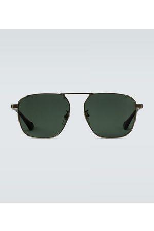 Gucci Squared aviator-inspired sunglasses