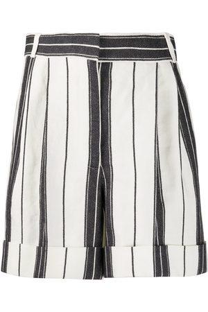 Alexander McQueen Shorts a rayas