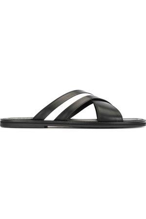 Bally Hombre Flip flops - Sandalias con detalle de rayas