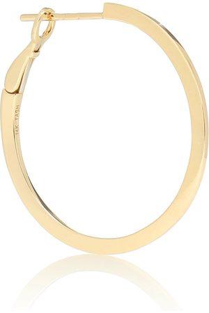 Maria Tash 14kt gold single hoop earring