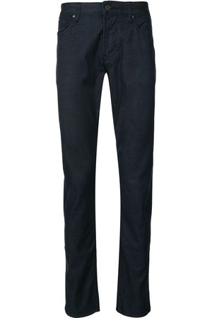 Emporio Armani Hombre Skinny - High rise slim fit jeans