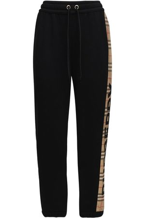 Burberry Mujer Suéteres - Jersey Sweatpants W/ Checked Side Bands