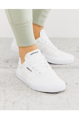 adidas 3MC trainers in triple white