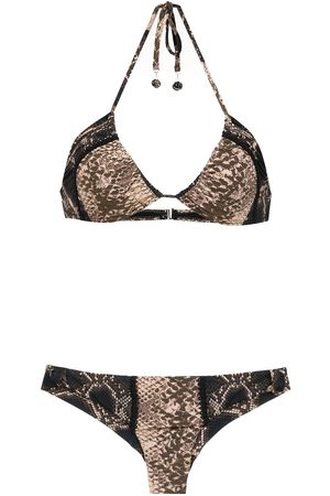 AMIR SLAMA Mujer Bikinis - Bikini con diseño de encaje