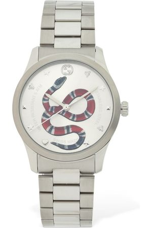 "Gucci Reloj ""g Timeless"" Con Serpiente Roja 38mm"