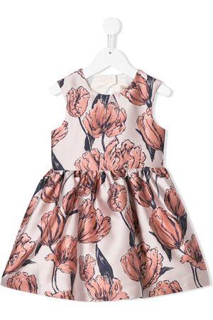 Hucklebones London Niña Estampados - Vestido con motivo floral