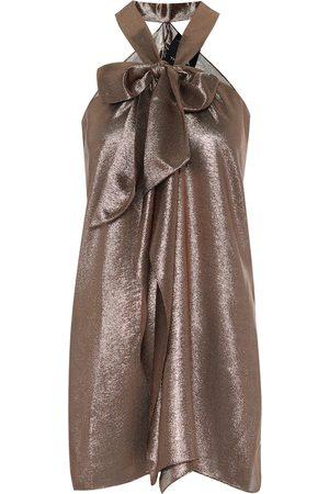 Roland Mouret Exclusive to Mytheresa – Pontal metallic silk-blend top