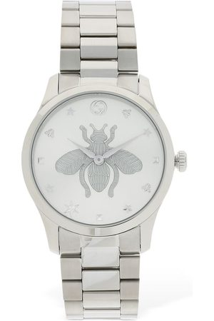 "Gucci Reloj ""g Timeless"" Con Abeja 38mm"