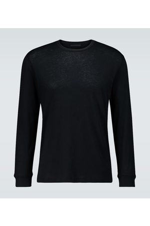 WARDROBE.NYC Hombre Casuales - Long-sleeved cotton T-shirt